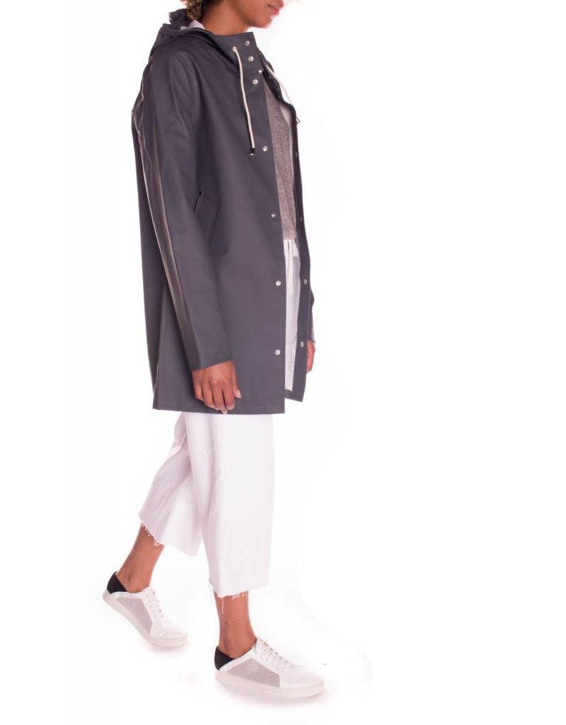 STOCKHOLM CHARCOAL RAINCOAT
