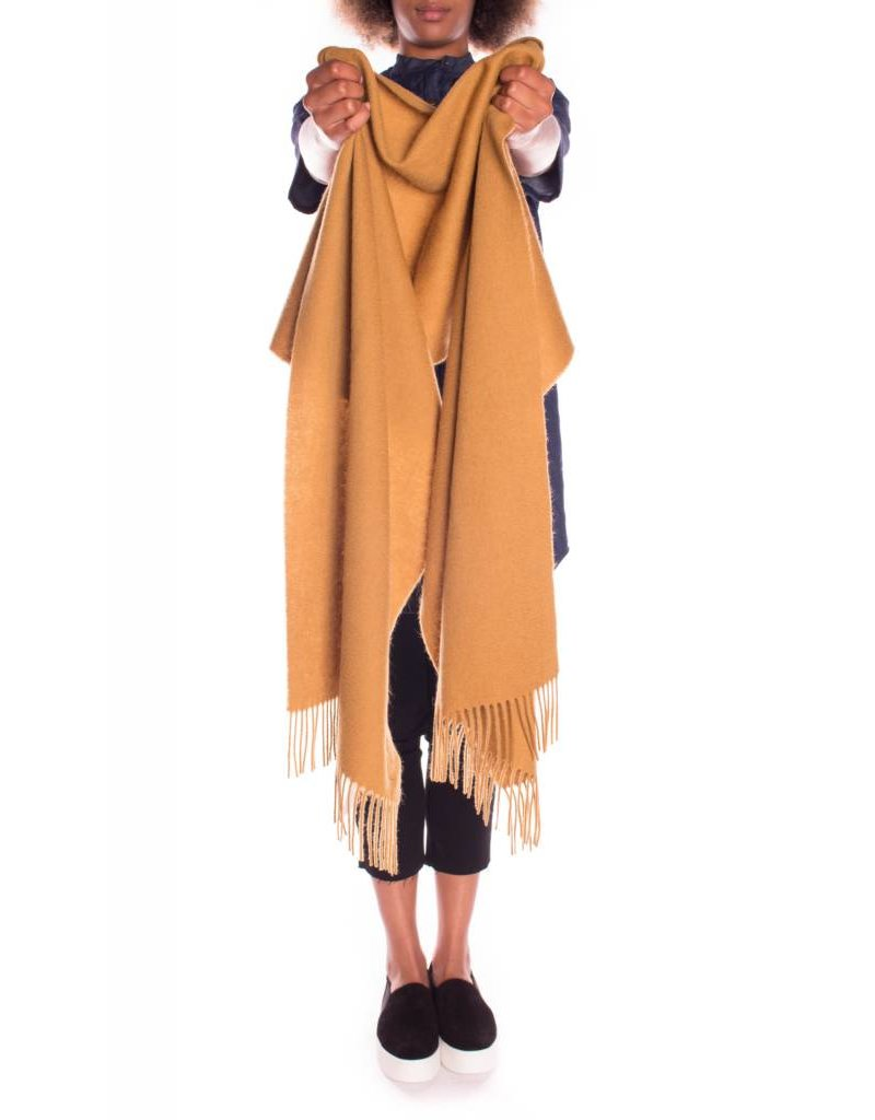 SOAKED IN LUXURY ROWDIE SCARF MUSTARD