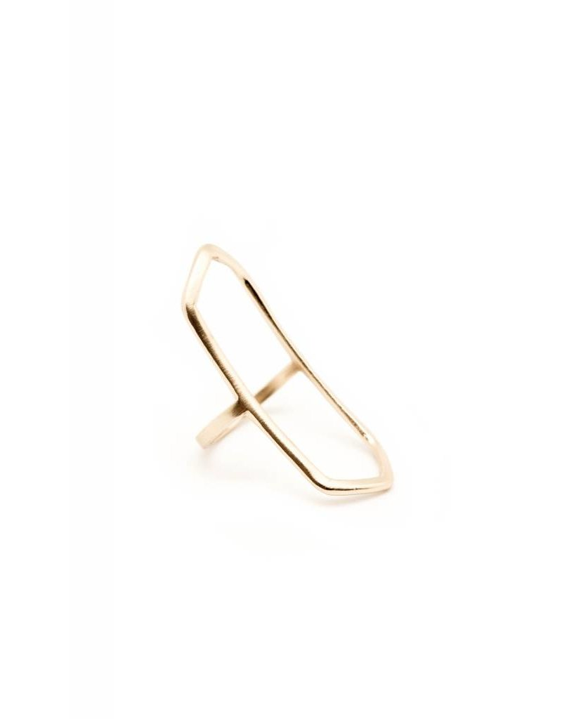 BOLD BASAL RING BRONZE