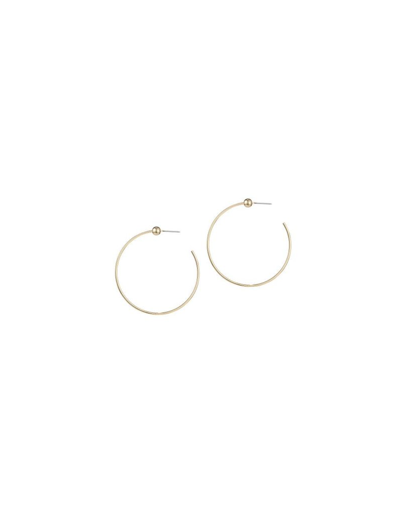 JENNY BIRD ICON HOOPS GOLD SMALL