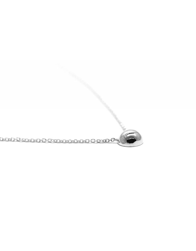 COLLIER DOME ARGENT