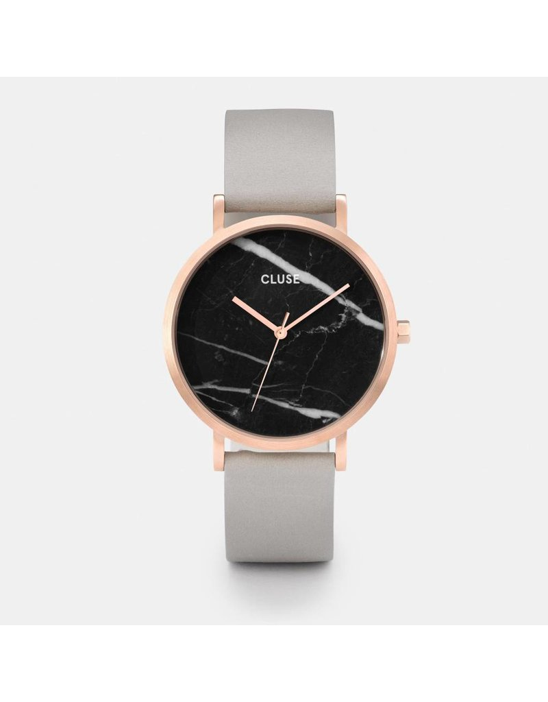 LA ROCHE ROSE GOLD BLACK MARBLE/ GREY