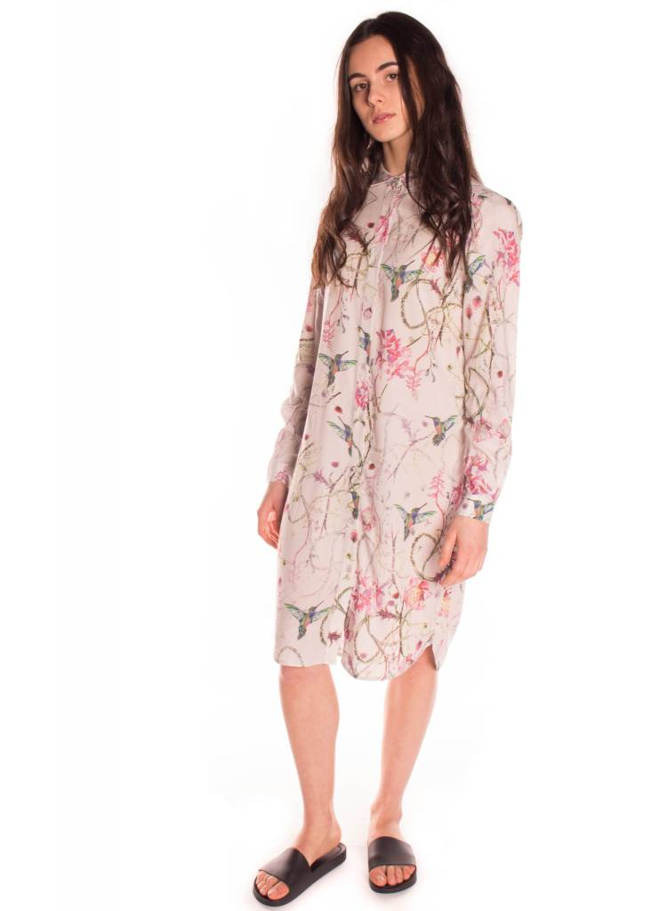 KAREN BY SIMONSEN STAMP SHIRT DRESS