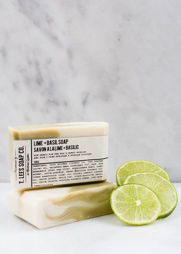 T.LEES LIME & BASIL SOAP