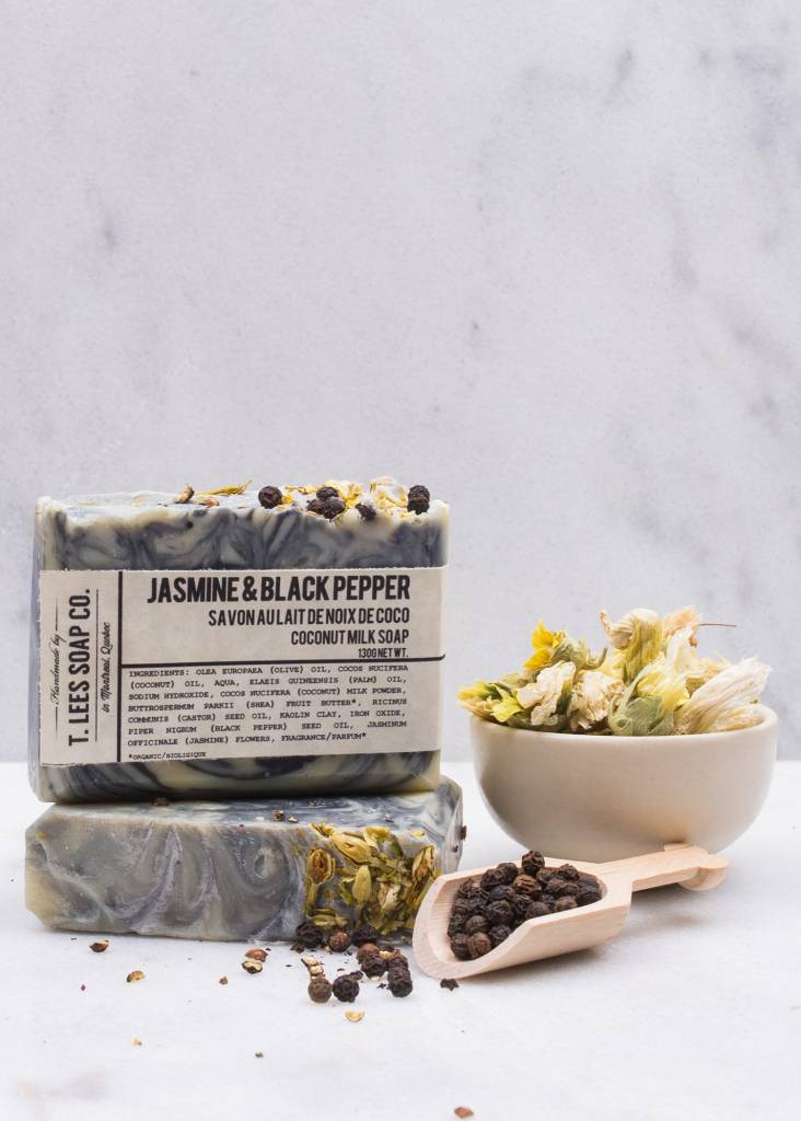 T.LEES JASMINE & BLACK PEPPER SOAP