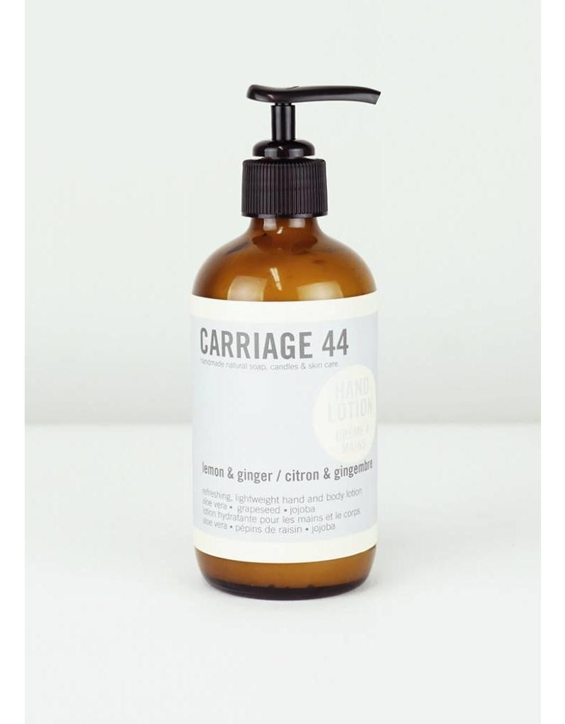CARRIAGE 44 LEMON & GINGER LOTION