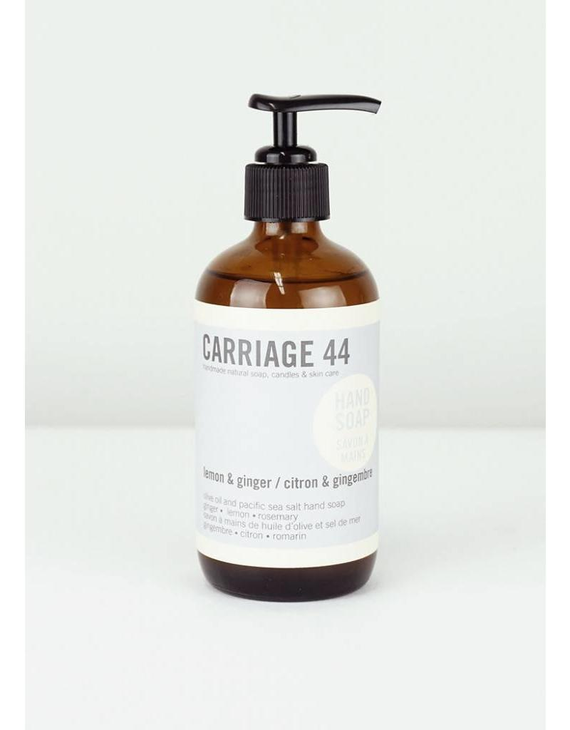 CARRIAGE 44 LEMON & GINGER HAND SOAP