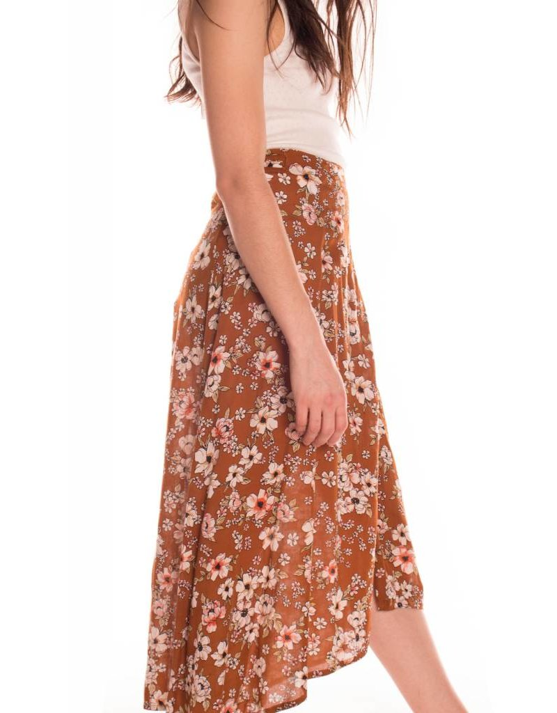 FAITHFULL CARIBE WRAP SKIRT