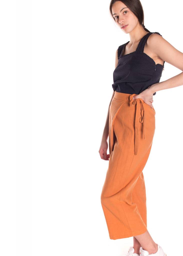 SIX CRIPS DAYS PORTE-FEUILLE PANT ORANGE