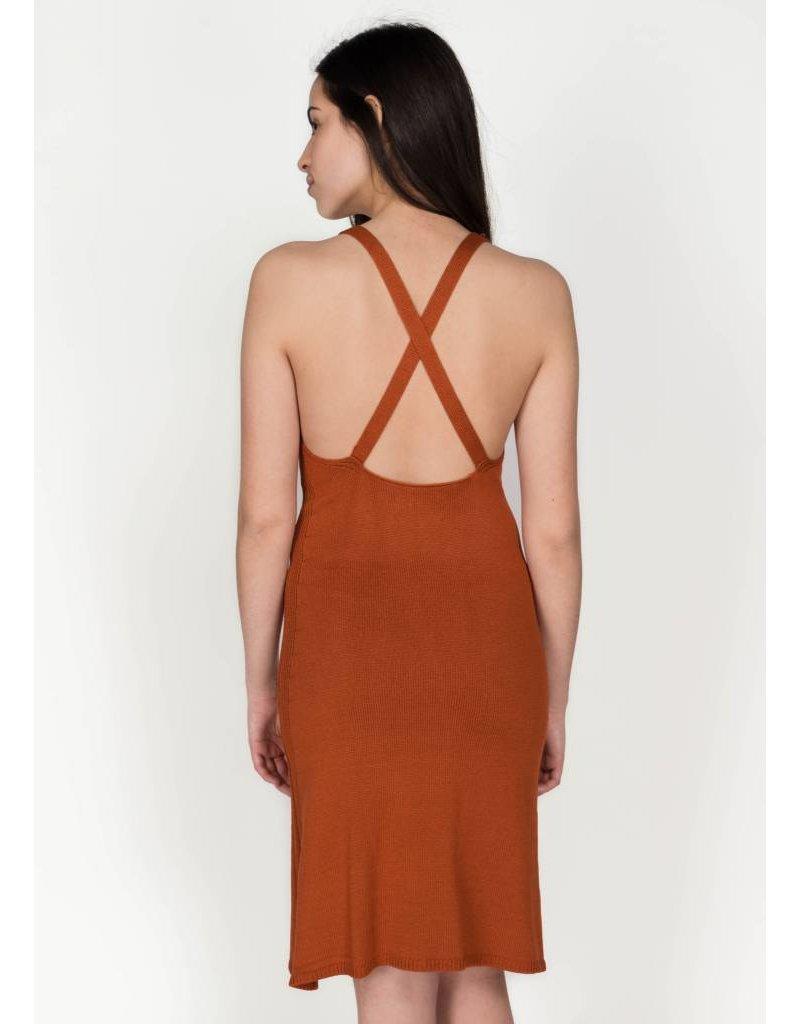 MIJEONG PARK CROSSBACK KNIT DRESS
