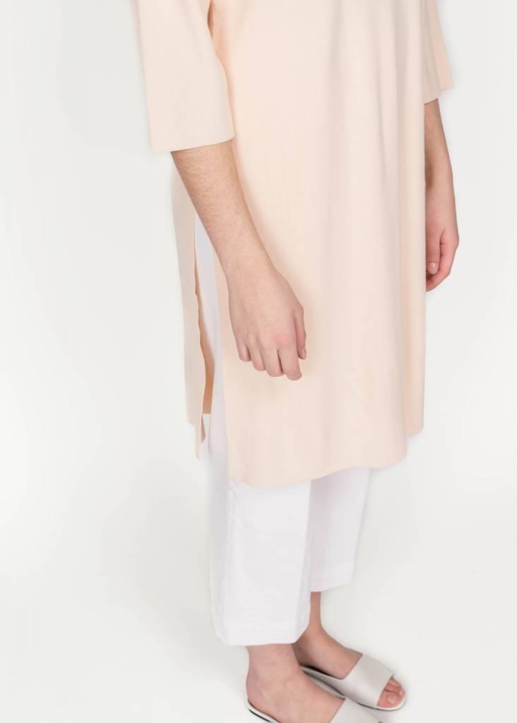 YAYA 3/4 SLV SLIT DRESS