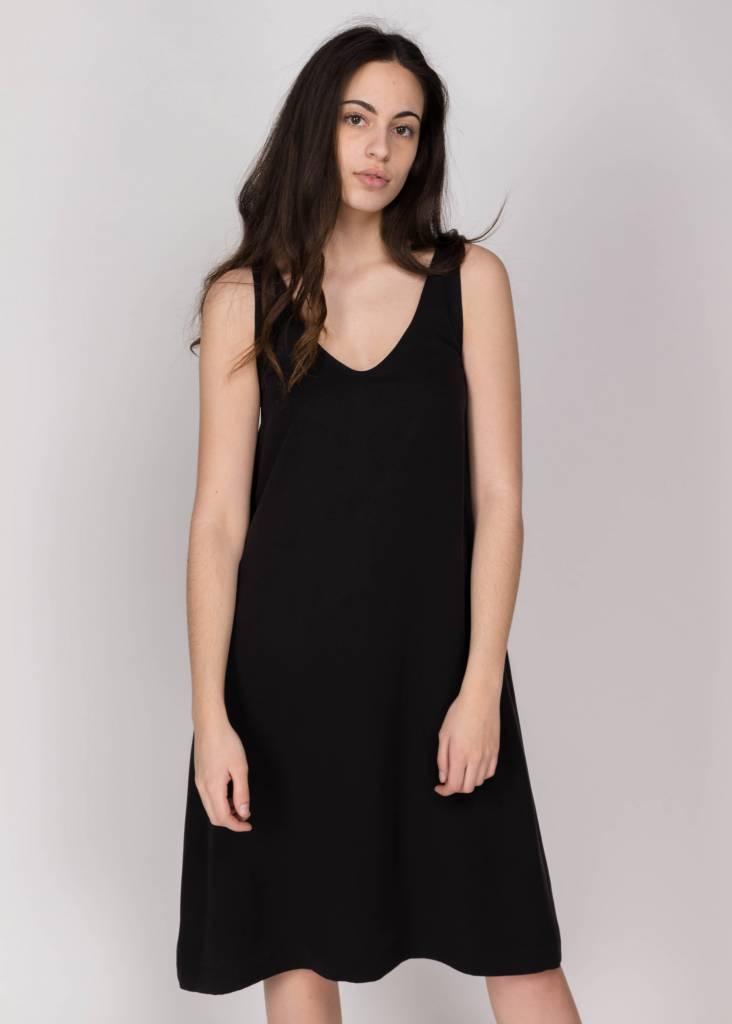 AMANDA MOSS JONI DRESS BLACK
