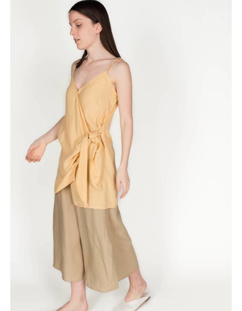 FAITHFULL KARA WRAP DRESS