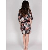 YAYA WRAP DRESS JUNGLE FLOWER PRINT