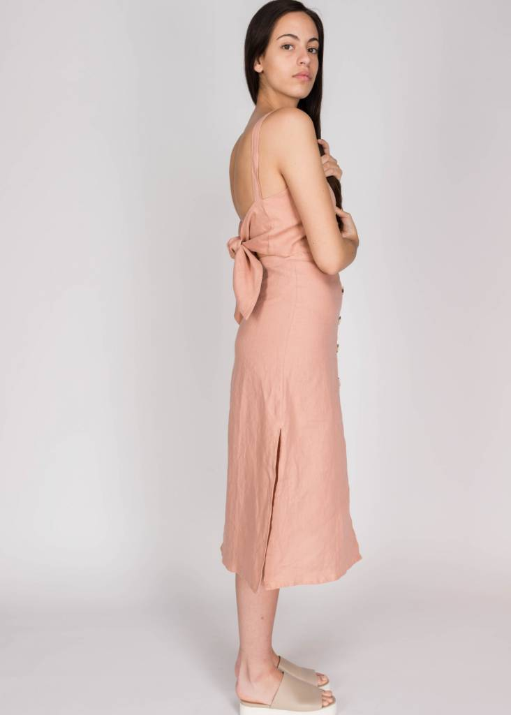 FAITHFULL NOEL MIDI DRESS