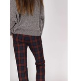 STRETCH PLAID PANT
