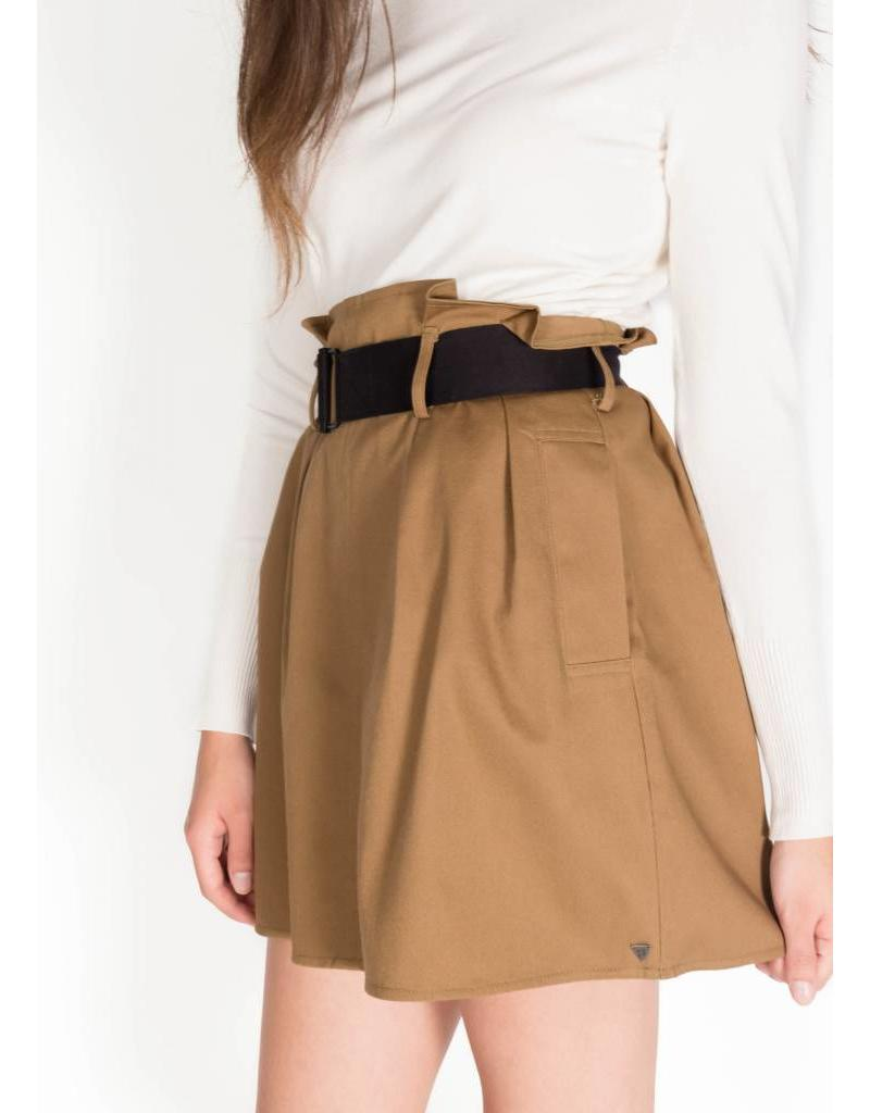 SCOTCH & SODA HIGH WAIST PAPERBAG SKIRT