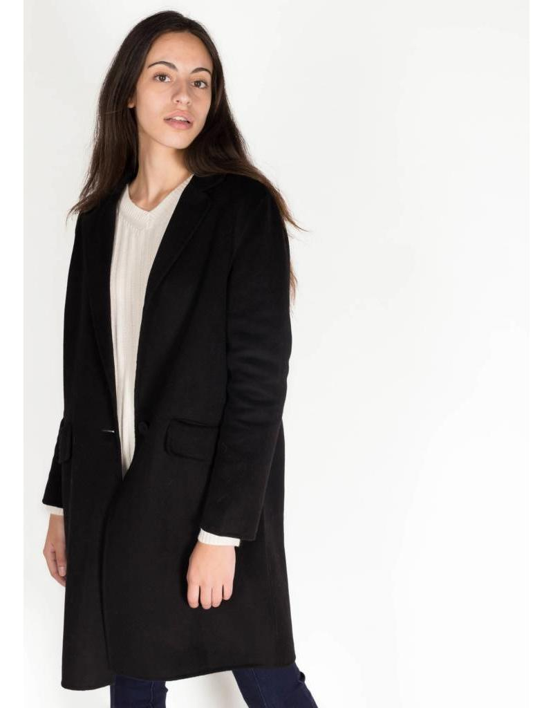KAREN BY SIMONSEN ELGIN COAT BLACK