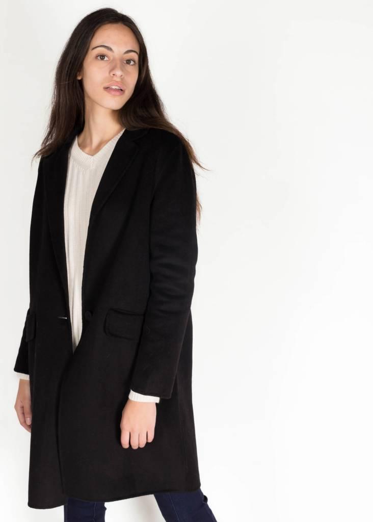 KAREN BY SIMONSEN ELGIN COAT BLACK