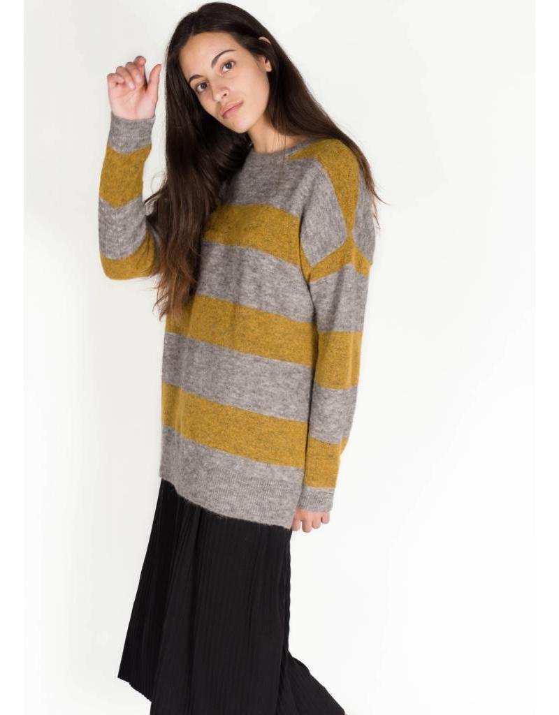 KAREN BY SIMONSEN EDITION STRIPED PULLOVER