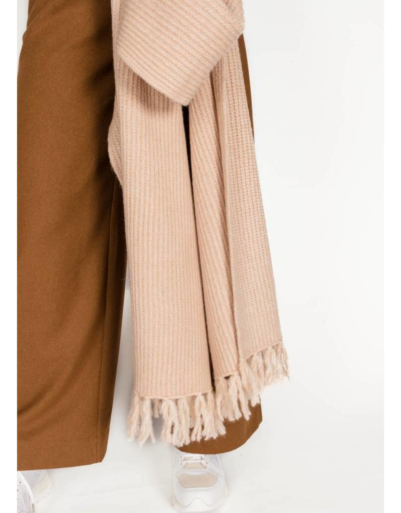 SCOTCH & SODA WOOL BLEND KNITTED SCARF