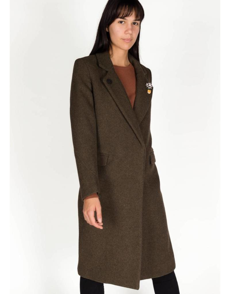 SCOTCH & SODA DOUBLE BREAST WOOL COAT