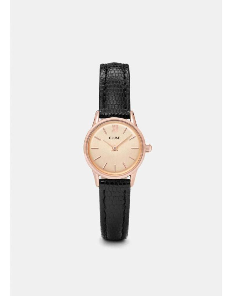 LA VEDETTE ROSE GOLD/CHAMPAGNE/BLACK LIZARD