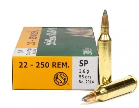 Sellier & Bellot Sellier & Bellot 22-250 55gr SP 20rds