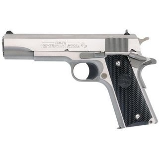 "Colt USA Colt Government .45ACP 5"" Stainless Steel WDS"