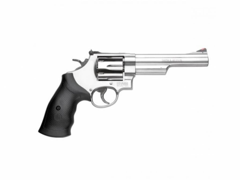 "Smith & Wesson Smith & Wesson 629, 44 Magnum, 6"" Barrel, 6 Rounds, Stainless"