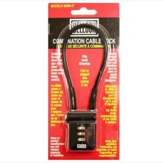 "Bell Bellock 8"" Combination Cable Lock"