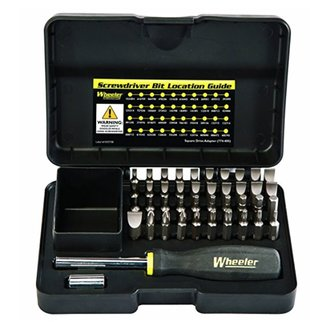 Wheeler Engineering Wheeler Industries 43 Piece Professional Gunsmithing Screwdriver Set