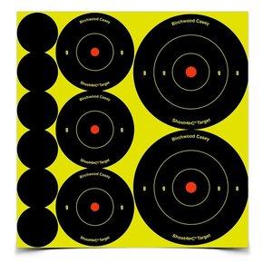"""Birchwood Casey Birchwood Casey Shoot•N•C® Ass't 1"""", 2"""" & 3"""" Bull's-eye Target"""