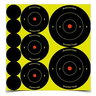 "Birchwood Casey Birchwood Casey Shoot•N•C® Ass't 1"", 2"" & 3"" Bull's-eye Target"