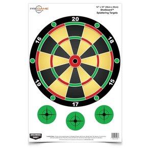 "Birchwood Casey PREGAME® 12"" x 18"" Shotboard™ Target"
