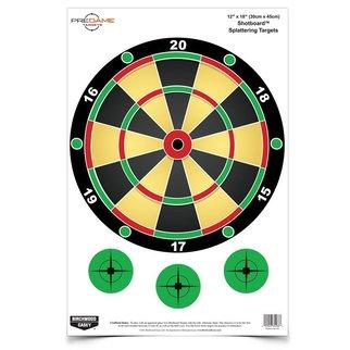 "Birchwood Casey Birchwood Casey PREGAME® 12"" x 18"" Shotboard™ Target"