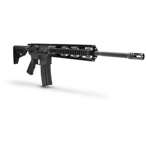 "Diamondback Firearms AR-15 Semi-Auto Rifle, .223/5.56 NATO, 16"" Free Float Barrel, 5 Rounds, Quad Rail, Black"