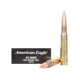 American Eagle Federal American Eagle 50 BMG 660 Gr. FMJ Box of 10