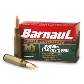Barnaul Barnaul 308 Win, 145gr, FMJ, Box of 20