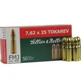 Sellier & Bellot Sellier & Bellot 7.62x25 Tokarev 85 Grains FMJ