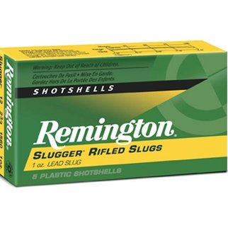 "Remington Remington Slugger Rifled Slugs 12Ga, 2 3/4"", Max, 1oz, RS Box of 5"