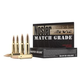 Nosler Nosler Match Grade Ammunition 308 Win 168g HPBT 20 per box