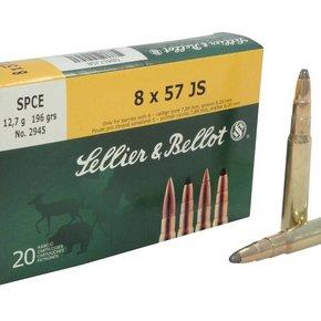 Sellier & Bellot 8x57 JS FMJ 196 Gr. 20 per box