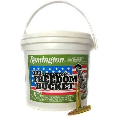 Remington Remington UMC 223 Freedom Bucket 55 Gr Bucket of 300