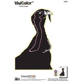 Champion Turkey VisiColor™ High-Visibility Paper Targets
