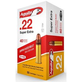 Aguila Aguila .22 Super Extra 40 Gr. 50 per box