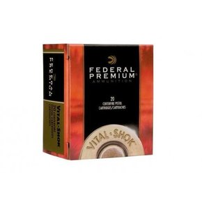 Federal Ammunition Federal Premium Vital-Shok 500 S&W Mag. 325 Gr. Swift A-Frame Jacketed HP Box of 20