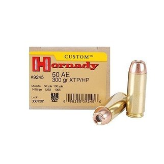 Hornady Hornady 50 AE 300 GR XTP Box of 20