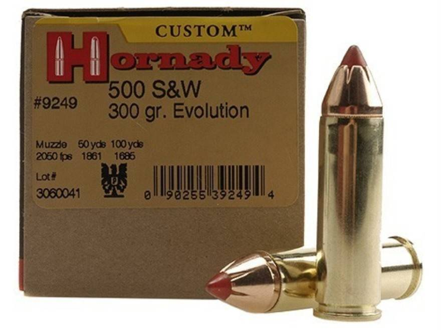 Hornady Hornady 500 S&W 300 GR FTX Box of 20