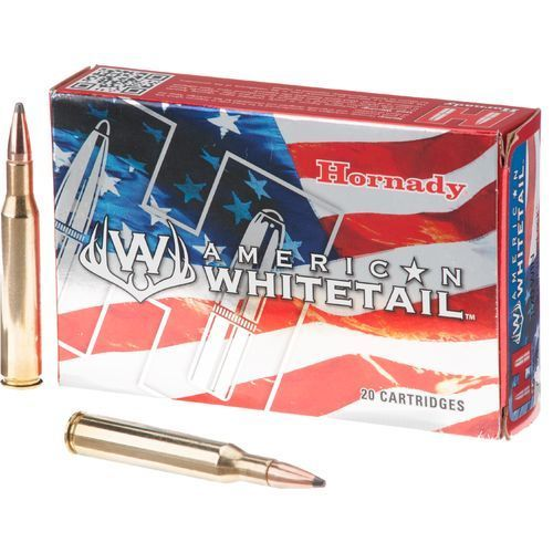 Hornady Hornady American Whitetail 25-06 Remington 117 Grain Interlock Spire Point Boat Tail Box of 20